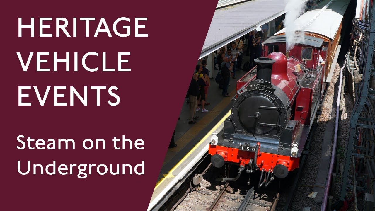 Heritage vehicle events - London Transport Museum
