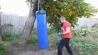 Боксерський мішок(груша) своїми руками з ПВХ тканини не гірше ніж з магазину.