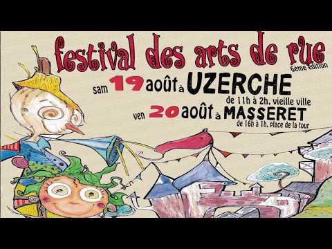 Uzerche Festival des arts de rue 2017