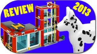 LEGO 60004 Fire Station LEGO City Review - BrickQueen