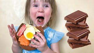Five Kids Harmful sweets Song Nursery Rhymes & Children's Songs