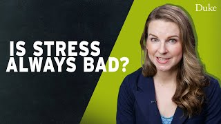 is stress always bad extra credit with dr bridgette martin hard