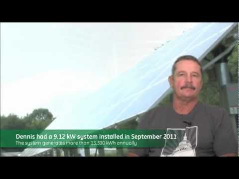 Customer Testimonial: Dennis Evans in Berlin, MD - 9.12 kW Residential Ground Mount