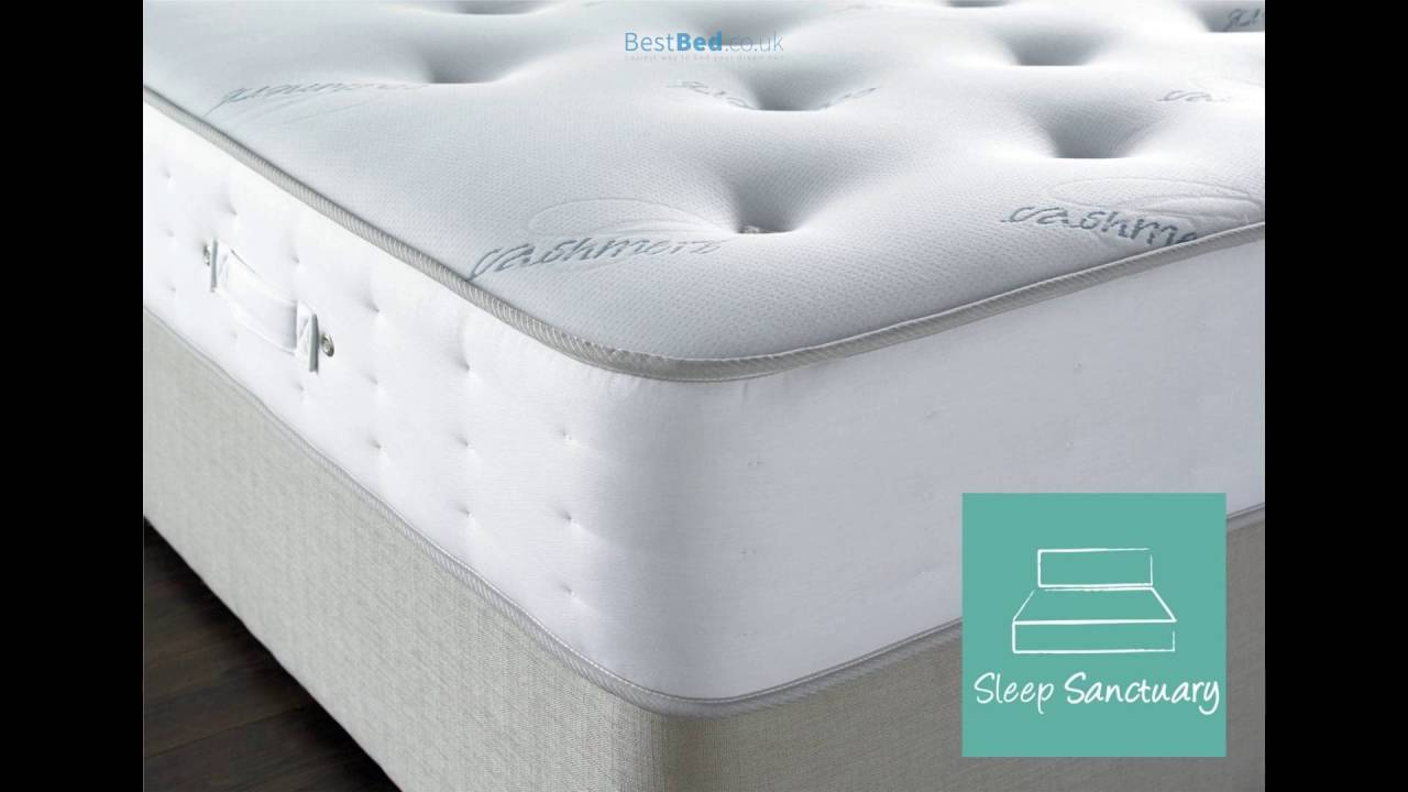 sleep sanctuary cashmere pocket sprung mattress