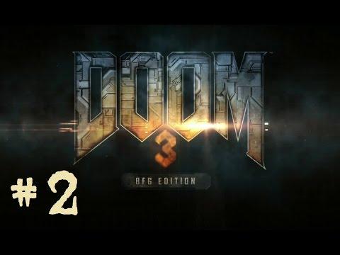 DooM 3 BFG Edition # 2 / Buscando al pelotón del sargento Kelly [ Let´s play en español ]