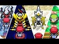 Pokemon Platinum - All Legendary Pokémon Locations (1080p60)