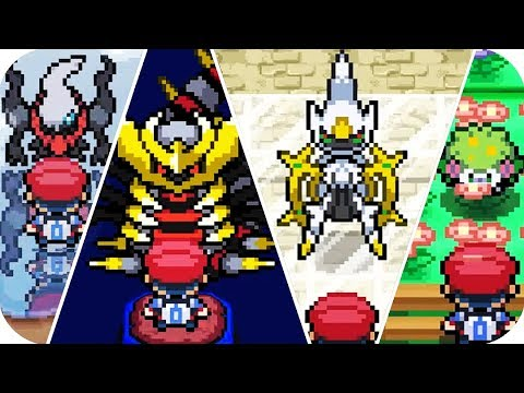 Pokemon Platinum - All Legendary Pokémon Locations (1080p60)