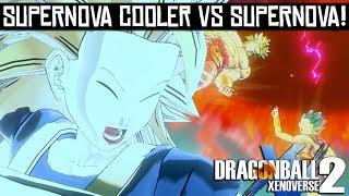Dragon Ball Xenoverse 2 - Supernova Cooler vs Supernova!