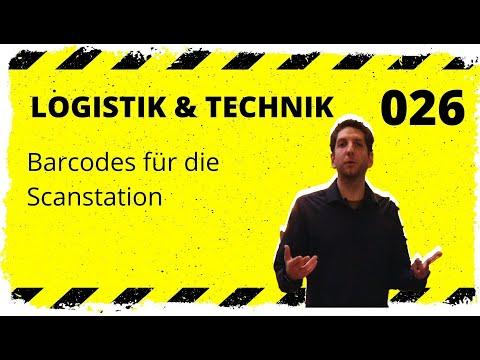 logistik&technik #026: Barcodes für die Scanstation - Welche gibts und welche sind richtig gut!