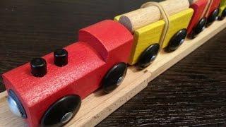 Мультики про паровозики, Железная дорога ИКЕА ЛИЛЛАБУ, Railroad IKEA LILLABU