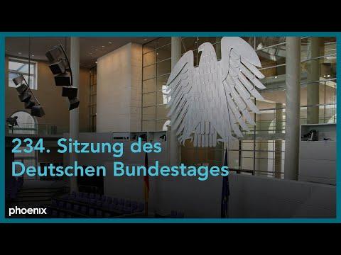 234. Sitzung des Deutschen Bundestages