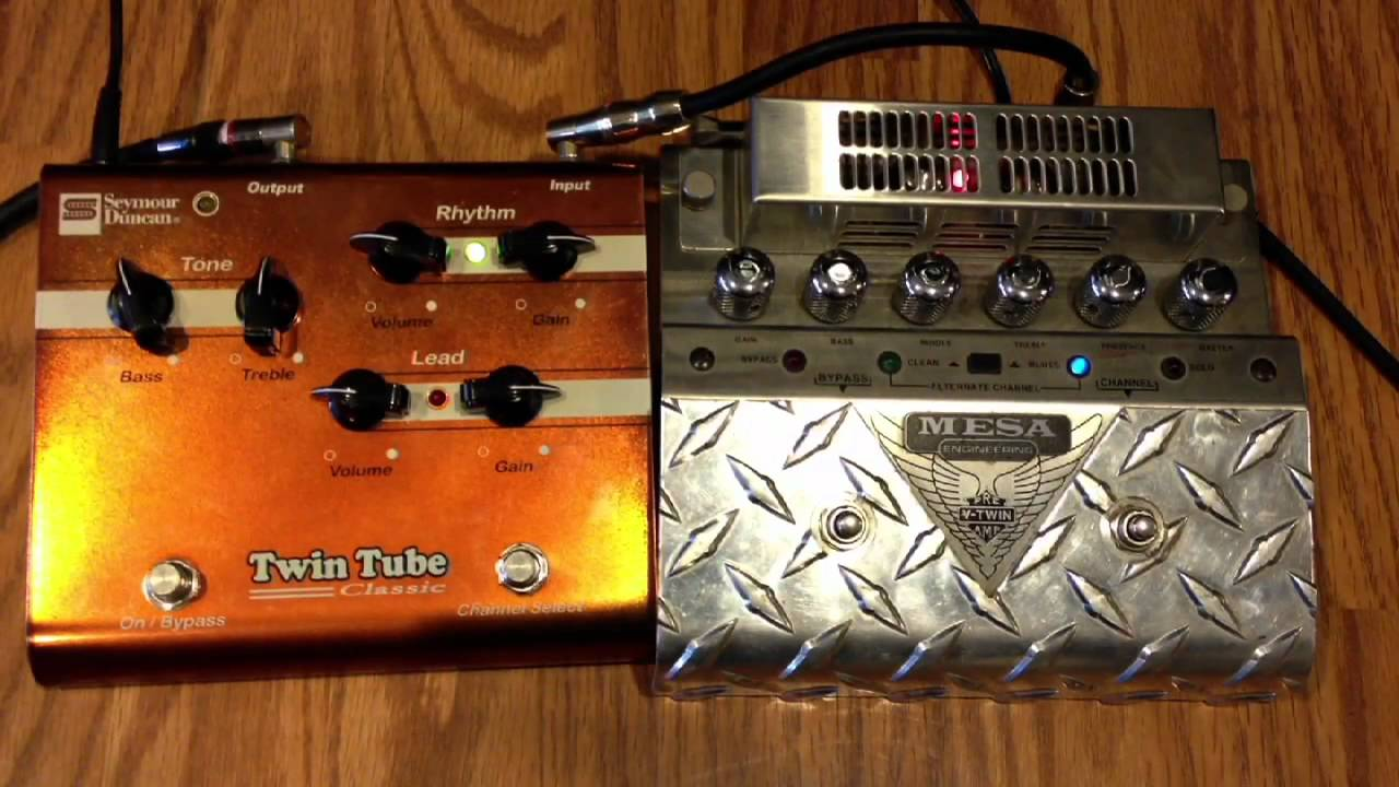 Tube Overdrive Schematic Seymour Duncan Wire Center Strat Hss Wiring Diagram Twin Classic Vs Mesa Booie V Youtube Rh Com Coil Tap