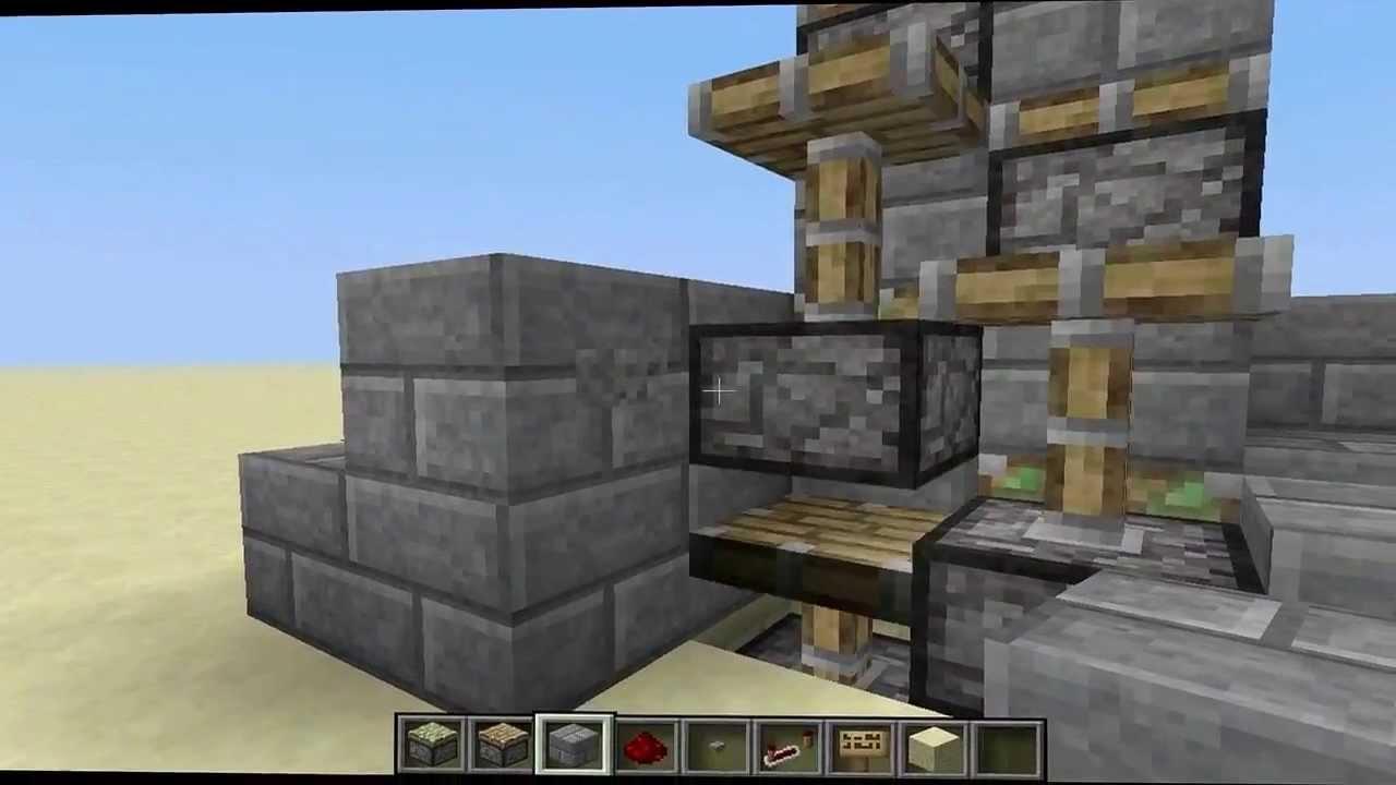 minecraft tutorial ein einfacher aufzug youtube. Black Bedroom Furniture Sets. Home Design Ideas