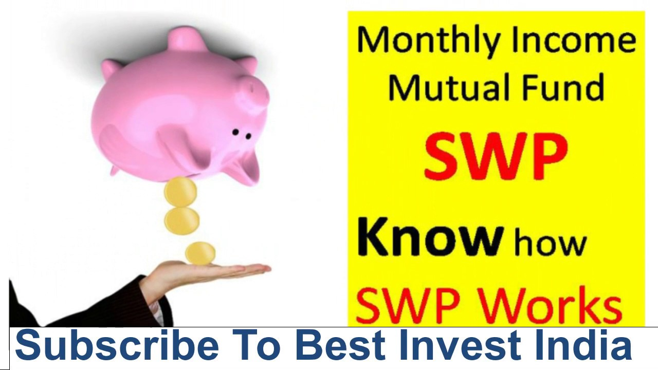 How to get monthly Income from Mutual funds I SWP ( Systematic Withdrawal  Plan ) from Mutual fund