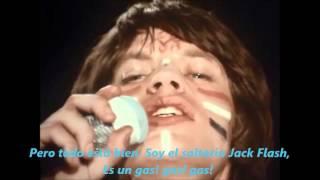 Rolling Stones Jumpin jack flash Subtitulada en español