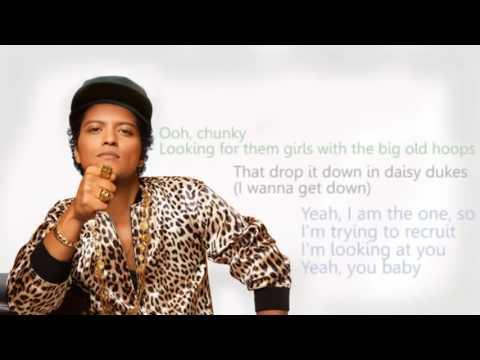 Bruno Mars   Chunky 24K MAGIC   Lyric...