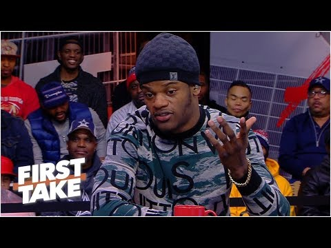Lamar Jackson is confident he can succeed as a passer in the NFL | First Take