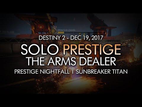 Destiny 2 - Solo Prestige Nightfall: The...