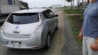 видео: Nissan leaf 30kwt/h  а  300км проехать сможет?