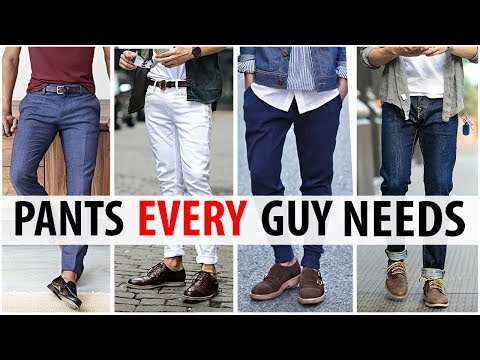 5 Pants Every Guy Needs in His Wardrobe | Men's Style Essentials | ALEX COSTA