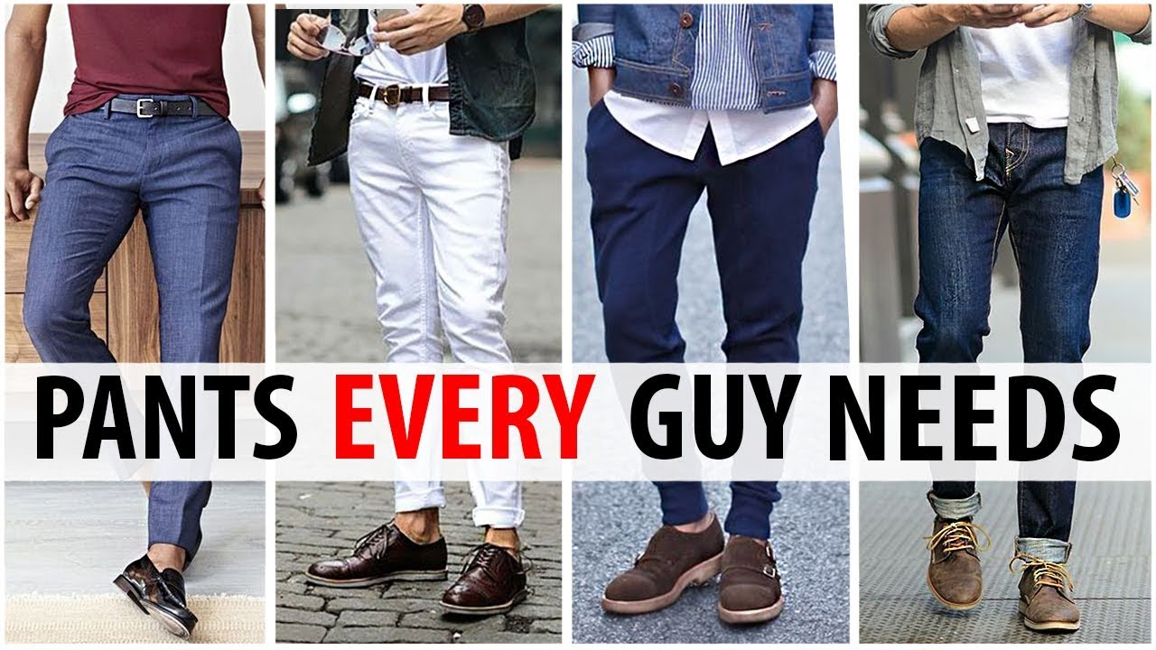 efb58324d93 5 Pants Every Guy Needs in His Wardrobe | Men's Style Essentials | ALEX  COSTA