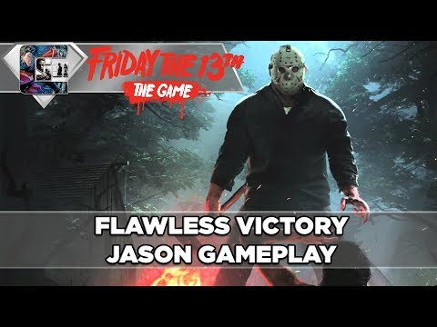 FLAWLESS VICTORY - Friday The 13th: The Game - Jason Gameplay