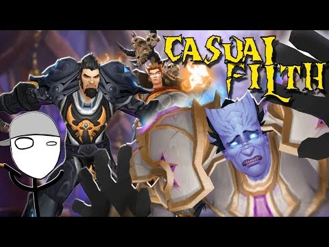HATING on DRAENEI -The Casual Filth: Ep # 1 - Ft. Kakio & Hirumaredx