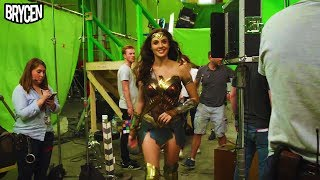 """Wonder woman """"behind the scenes"""" extended featurette (gal gadot, chris pine, robin wright) #7"""