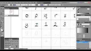 How to create your own font EASY TUTORIAL