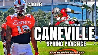 Miami hurricanes spring practice 5 apr 18 - cane commit interview