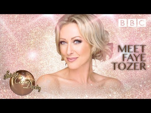 Meet Faye Tozer - BBC Strictly 2018