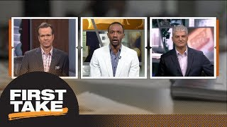 First Take reacts: Kyrie Irving says he will 'easily' be ready for training camp | First Take | ESPN
