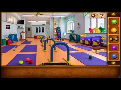 Escape Games Gym Trainer walkthrough 5nGames.