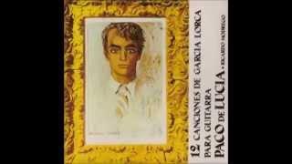 Paco de Lucia y Ricardo Modrego - 12 Canciones de Garcia Lorca para guitarra (1965 - Full álbum)