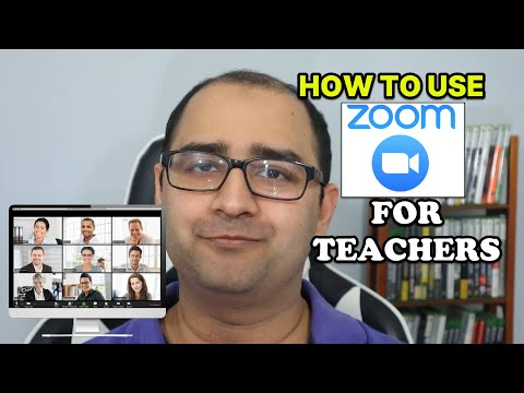 Zoom Tutorial For Teachers 2020 - How To Video Conference With Your Classroom Using Zoom