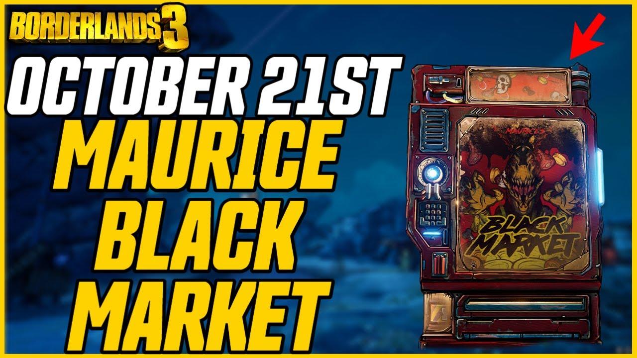 Download ANOTHER GREAT WEEK! Black Market Vending Machine Location! October 21st // Borderlands 3