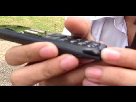 Samsung E1200T Hero - Drop test