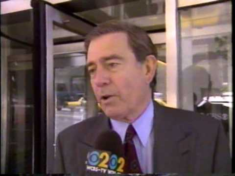 CBS Eve News, May 1995: Dan Rather and Connie Chung part; Gingrich's mom says Clinton is a bitch.