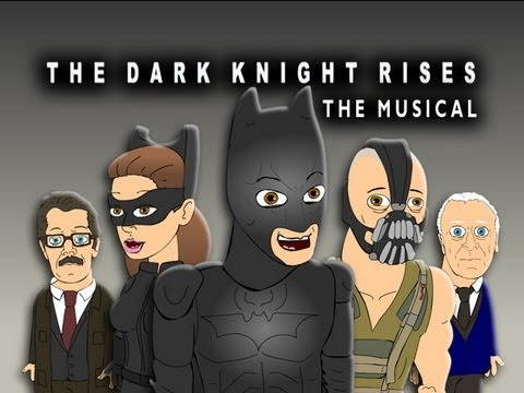 "♪ THE DARK KNIGHT RISES THE MUSICAL - Animated Batman Parody of Macklemore's ""Thrift Shop"""