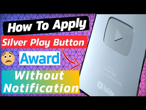 How To Apply For Silver Play Button Without Notification [Full Tutorial] Hindi/Urdu 2019