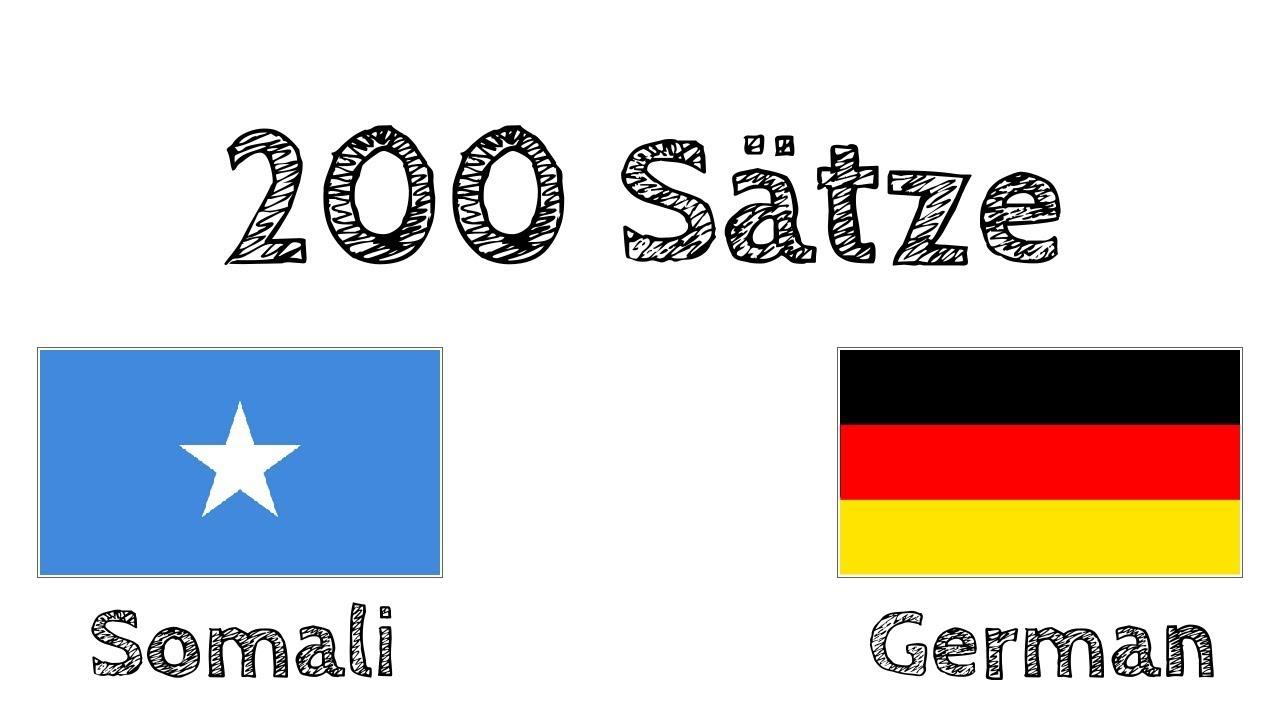 Download 200 Sätze - Somali - Deutsch