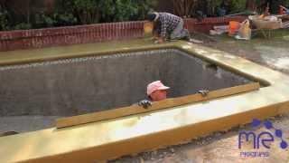 Construcción de Piscina por PiscinasMR.