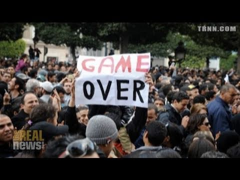 Protests Continue In Tunisia