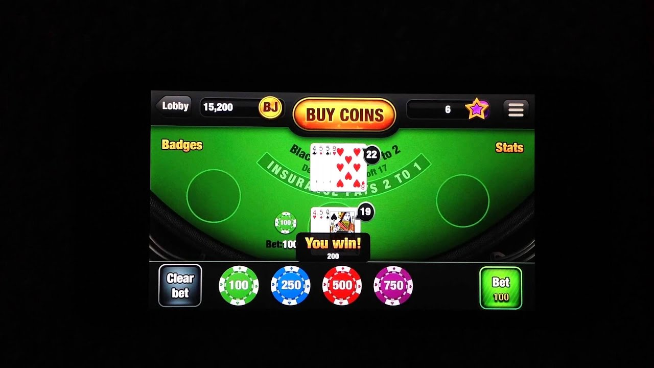Free Blackjack App Iphone Game Review - Youtube-3649
