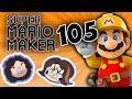 Super Mario Maker: Off to Summer Camp - PART 105 - Game Grumps