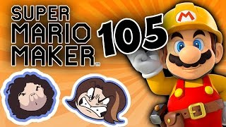 Super Mario Maker: Off to Summer Camp - PART 105 - Game Grumps