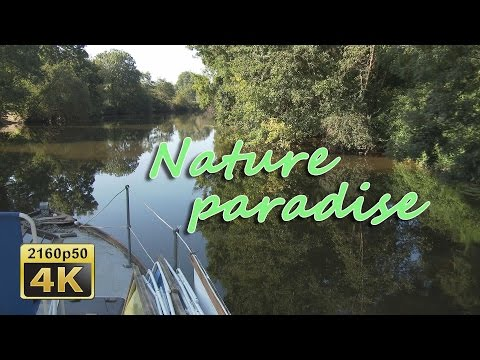 A boat tour on the Sevre nantaise - France 4K Travel Channel