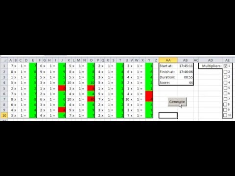 math worksheet : multiplication worksheet generator in excel  youtube : Worksheet Generator Multiplication