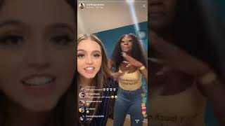 Chythegreatest Instagram Live- Vicky, Ti, and Kayla Nicole