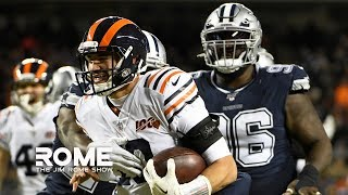The Dallas Cowboys QUIT Versus The Chicago Bears! | The Jim Rome Show